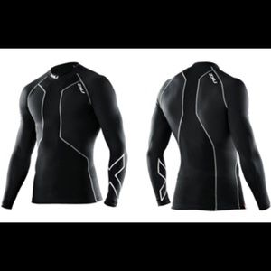 2XU Men's Swim Recovery Compression Top size S